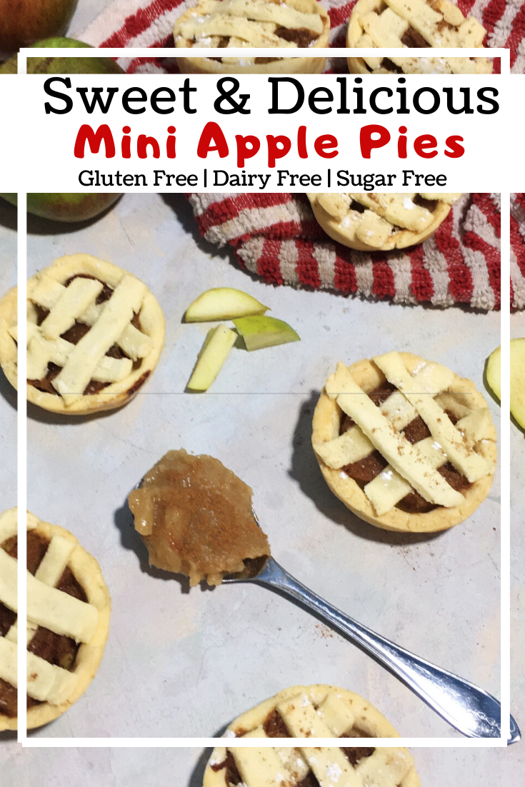 Mini Apple pies (GF, DF, SF)