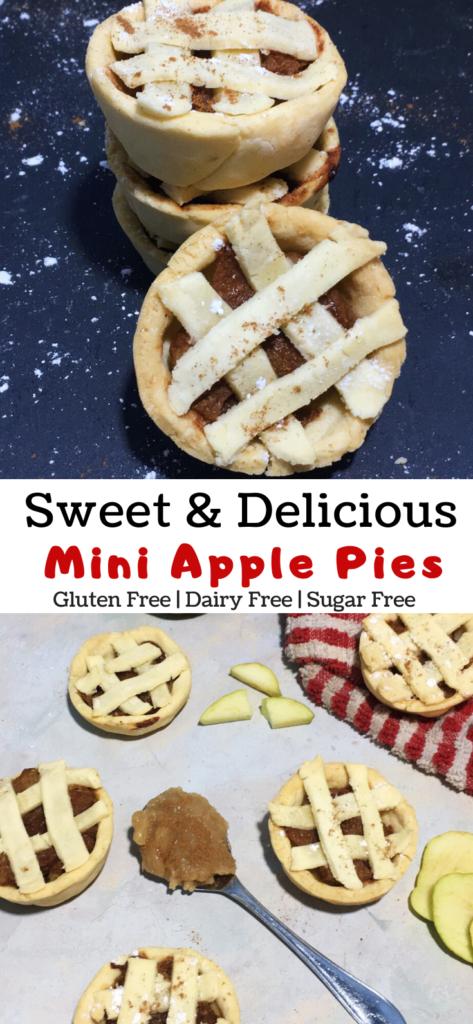 mini apple pies pinterest image