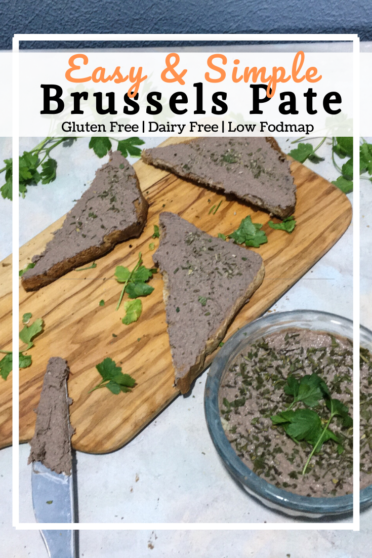 Brussels Pate (GF, DF, Low Fodmap)