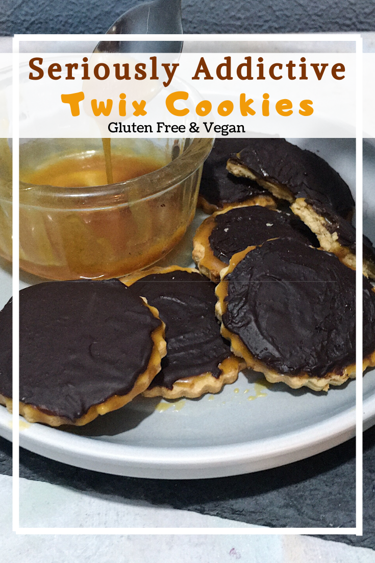 Vegan Twix Cookies (GF)