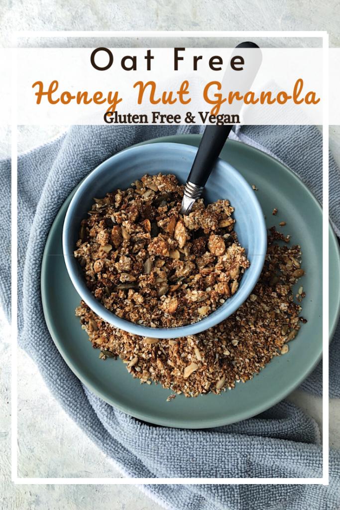 Honey Nut Granola (GF, VG, Oat Free) • naturallysweetlife