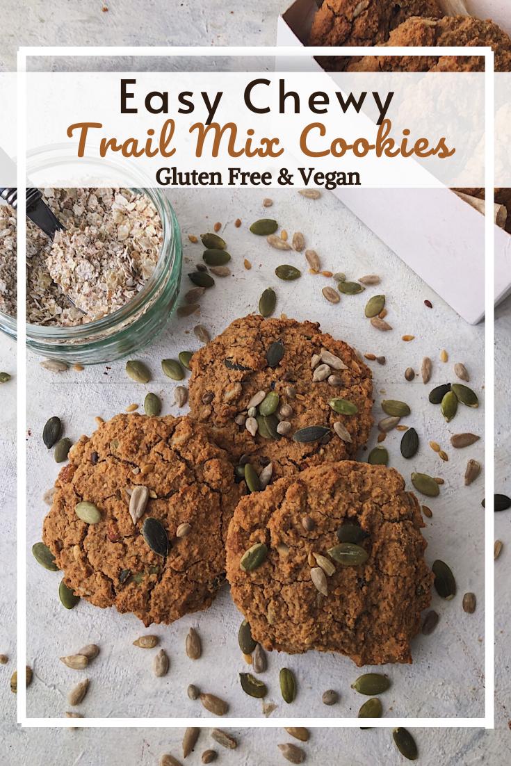 Trail Mix Cookies (GF, VG)